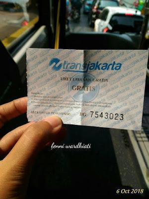 Trans Jakarta Gratis 6, 7 dan 13 Oktober 2018
