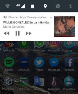 Truco para escuchar música en Youtube con la pantalla apagada en el celular