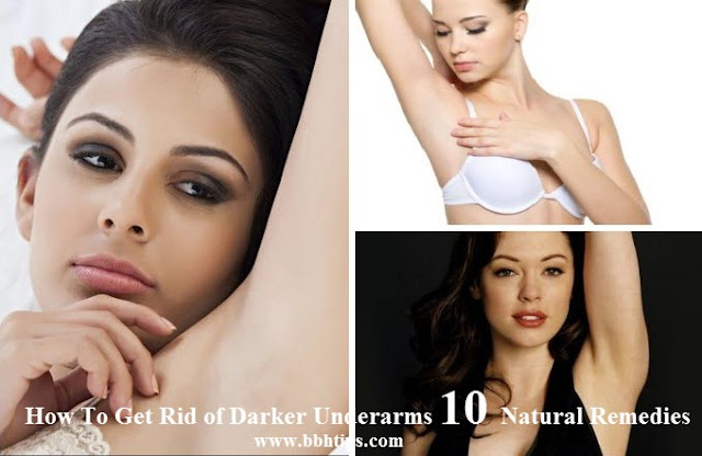How To Get Rid Darker Underarms 10 Natural Remedies