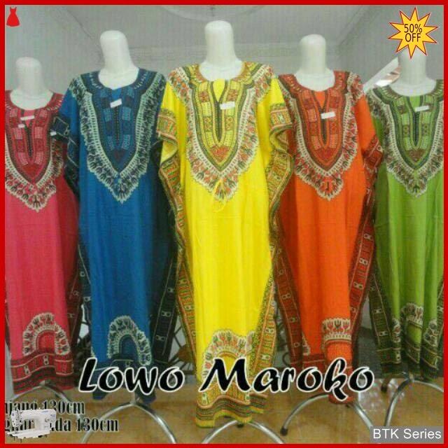 BTK017 Baju Daster Lowo Longdres Maroko Modis Murah BMGShop