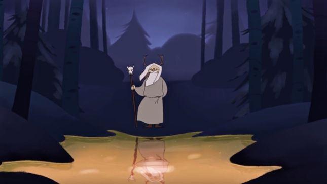 "KORPIKLAANI: Δείτε το animated video του ""A Man With A Plan"""
