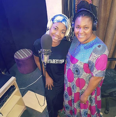 Mercy Chinwo [@MMercyChinwo] and Chioma Jesus 'Cooking' a new song