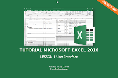 tutorial excel 2016 lesson 1
