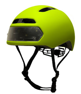 Clever Gadgets to Stay Visible In The Dark - T2 Bike Helmet
