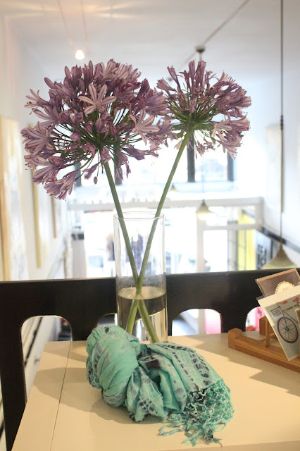 Flowers and Scarves at Rue Atelier