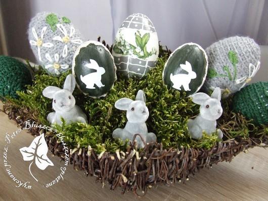 Wielkanocne ozdoby u Bluszczów