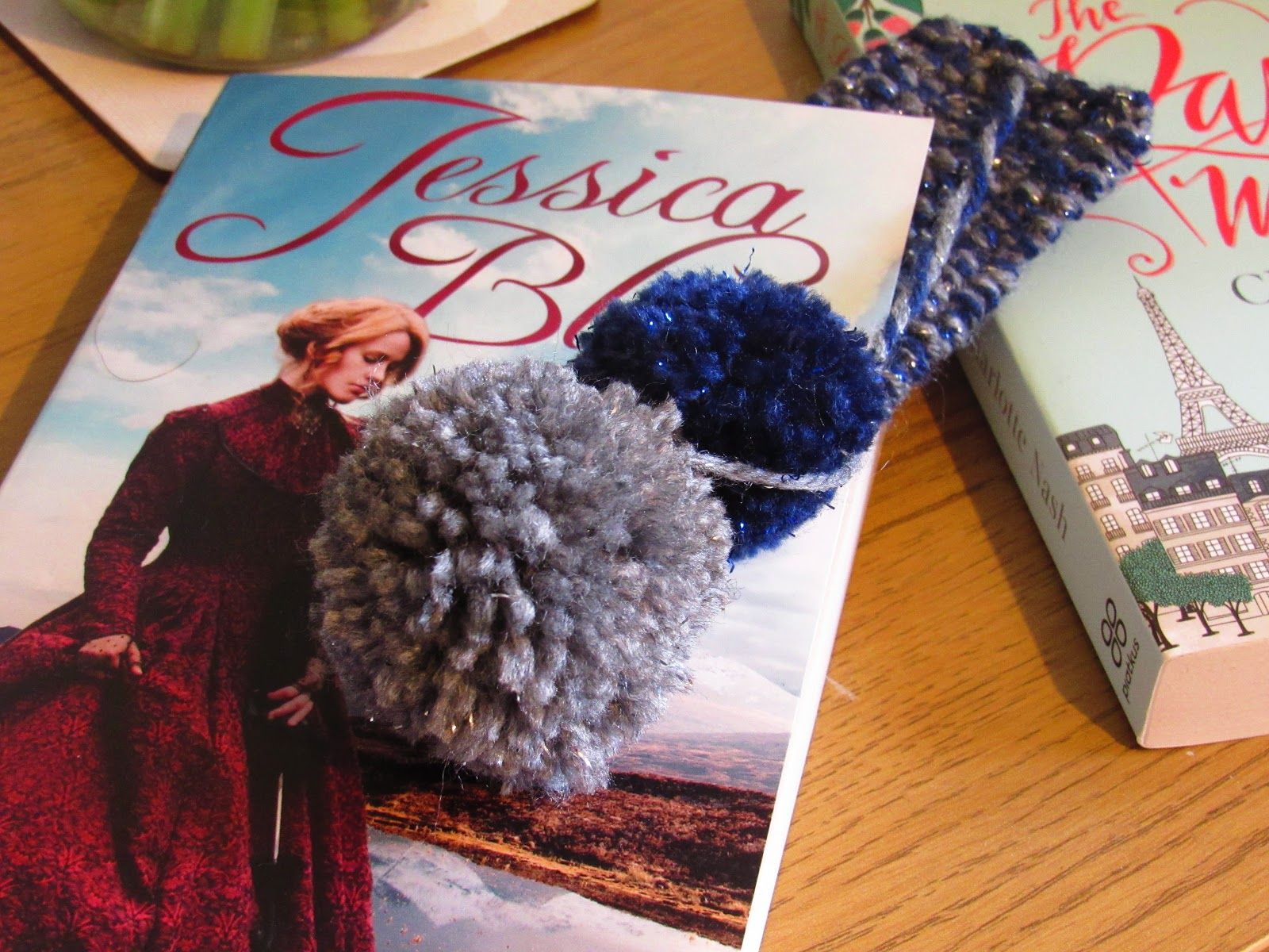 Blooming Fiction, Easy Knit Bookmark