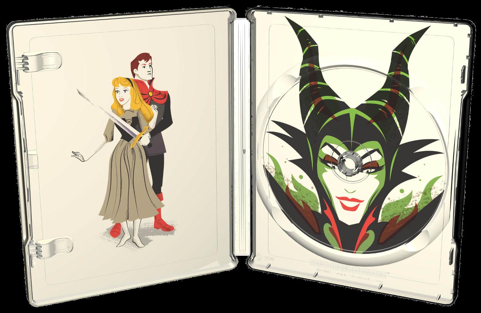 The Geeky Nerfherder Sleeping Beauty Exclusive Mondo Series Bluray Steelbook From Zavvi