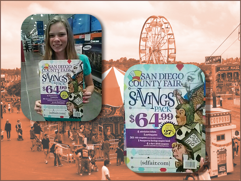 La county fair discount coupons