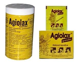 أجيولاكس حبيبات لعلاج الإمساك الحاد والمزمن وتنظيم عمل الامعاء Agiolax