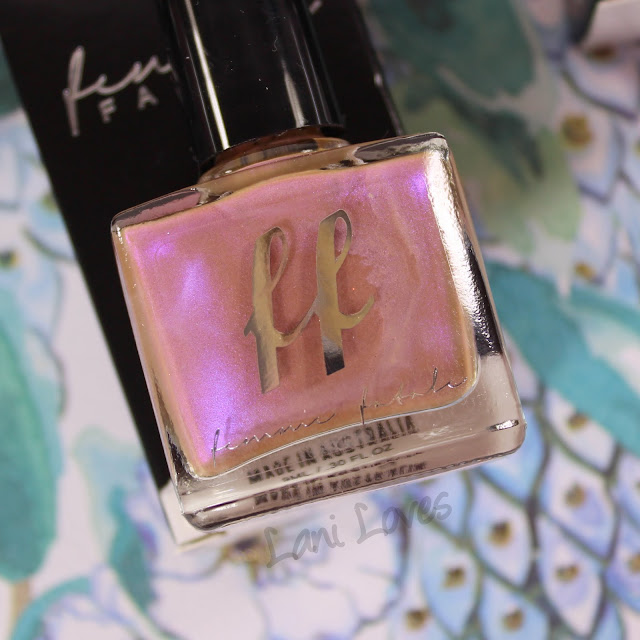 Femme Fatale Cosmetics First Blush Nail Polish Swatches & Review