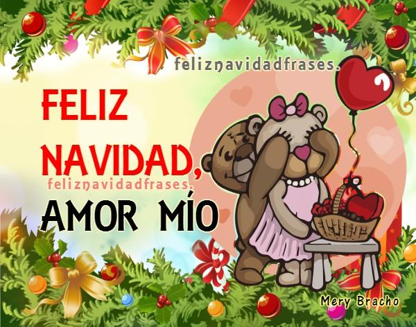 Frases de feliz navidad para mi amor, bonitas imágenes de amor en navidad y año nuevo por Mery Bracho