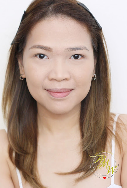 a photo of askmewhats wearing Revlon Colorstay Eyebrow Liner Review (Light Brown)