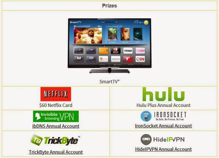 Smart TV and Streaming Service Credits Giveaway - Giveaway