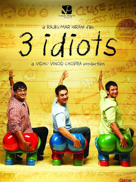 Poster of 3 Idiots 2009 720p Hindi BRRip Full Movie Download