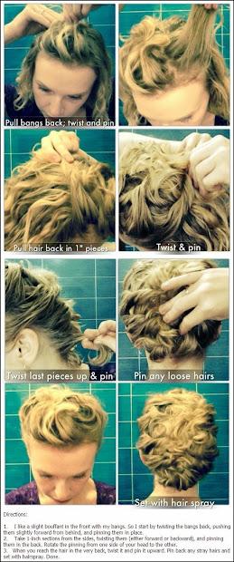 hair style top 9 easy stylish