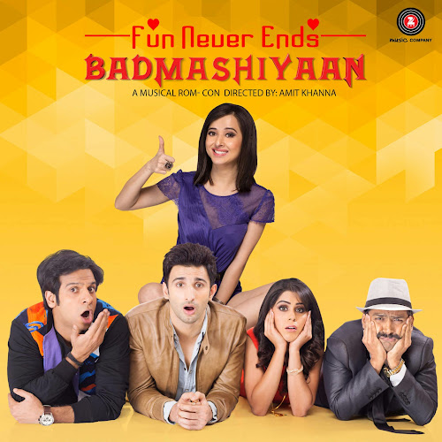 Badmashiyaan (2015) Movie Poster No. 2