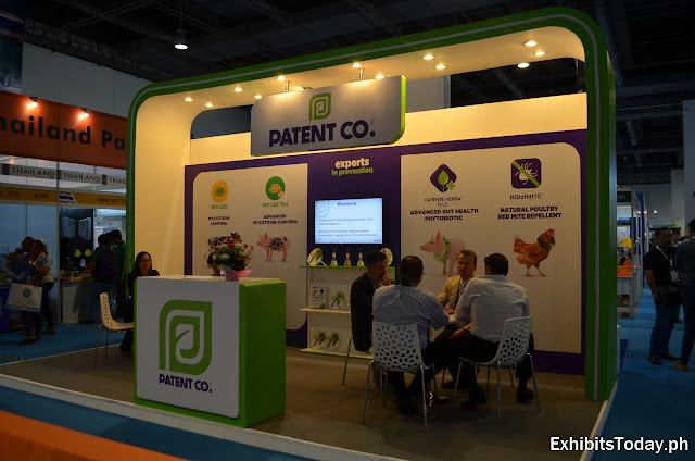 Patent Co. Exhibition Booth