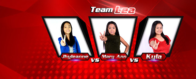 Jhyleanne Battles The Voice Kids