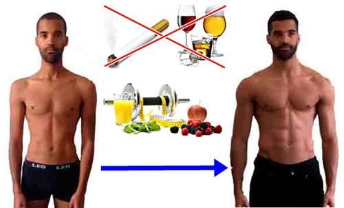 Lo que debes hacer para subir de peso siendo hombre