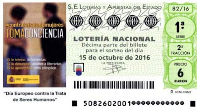 loteria nacional contra trata seres humanos