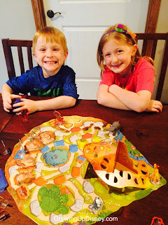 Growing Up Disney, The Lion Guard, children playing board game