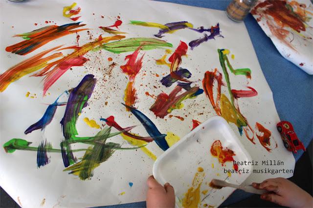 Beatriz musikgarten pintar con cepillo de dientes - Papel de pared para pintar ...