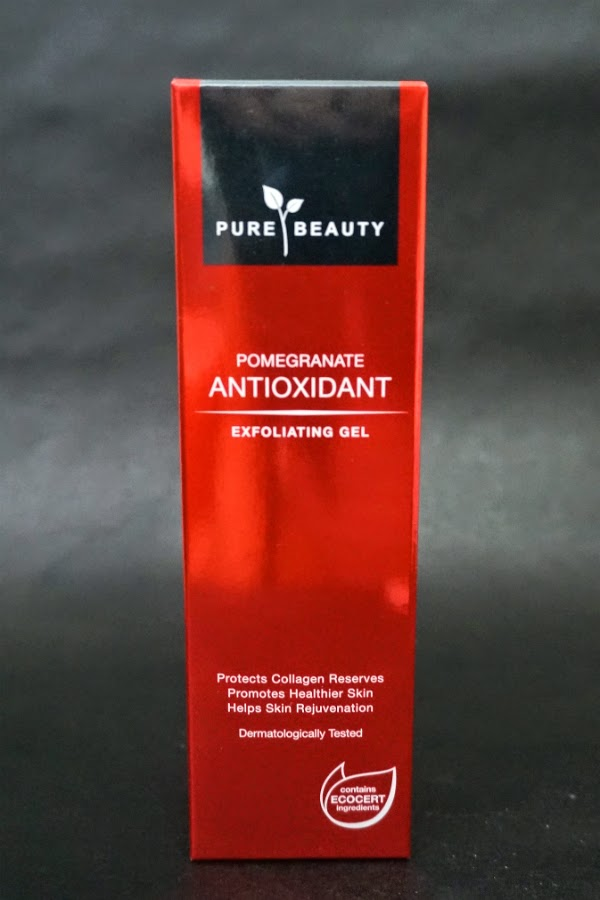 Pure Beauty Pomegranate Antioxidant Exfoliating Gel