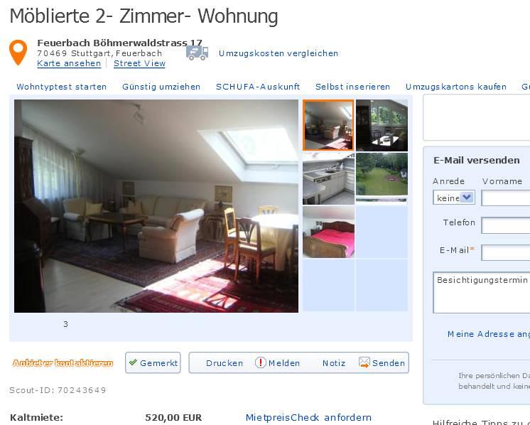 Wohnung Feuerbach
