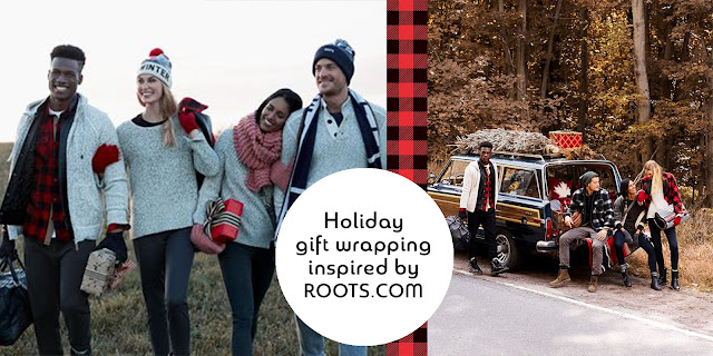 Roots holiday photo inspiration using gift wrapped props  | Creative Bag