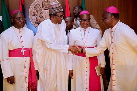 Catholic Bishops Visit Buhari