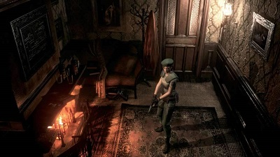 Resident Evil HD Remaster Gameplay