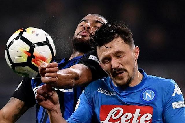 Napoli Turun Takhta Usai Berbagi Angka dengan Inter Milan