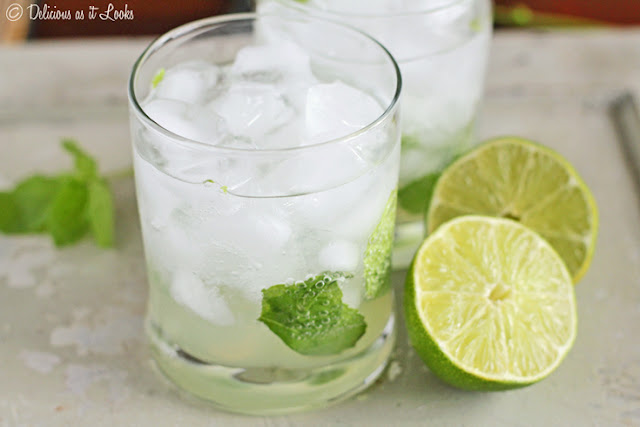 Low-FODMAP Virgin Mojito  /  Delicious as it Looks