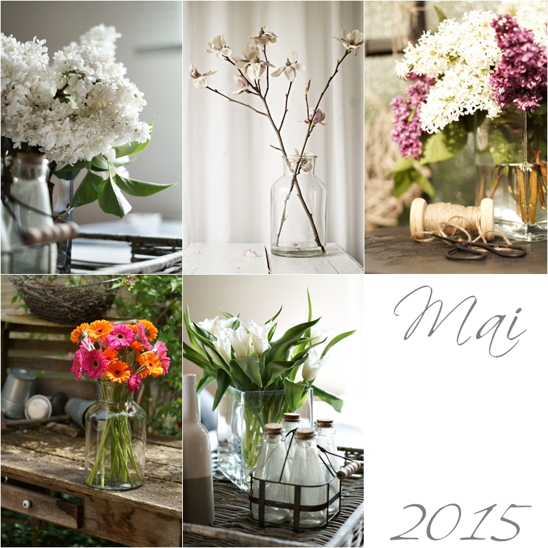 Blog + Fotografie by it's me! - Collage Friday Flowerday - Mai 2015