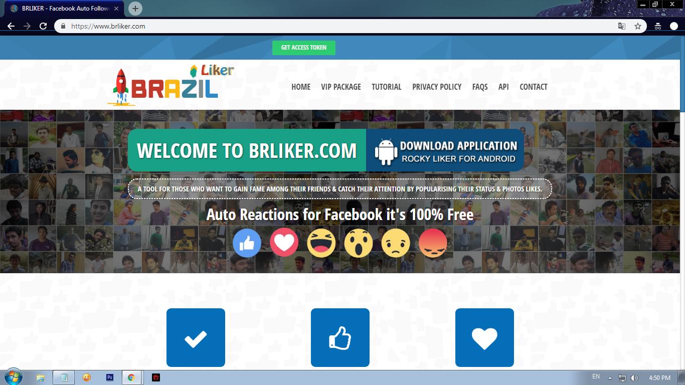 Chia Sẻ Website Auto Followers Max 200.000 Với BrLiker.Com