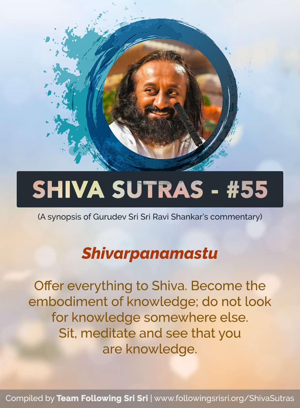 Shiva Sutras - Sutra 55