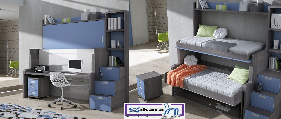 Cama abatible con sofa