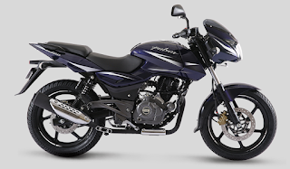 Bajaj Pulsar 180 Nuclear Blue color