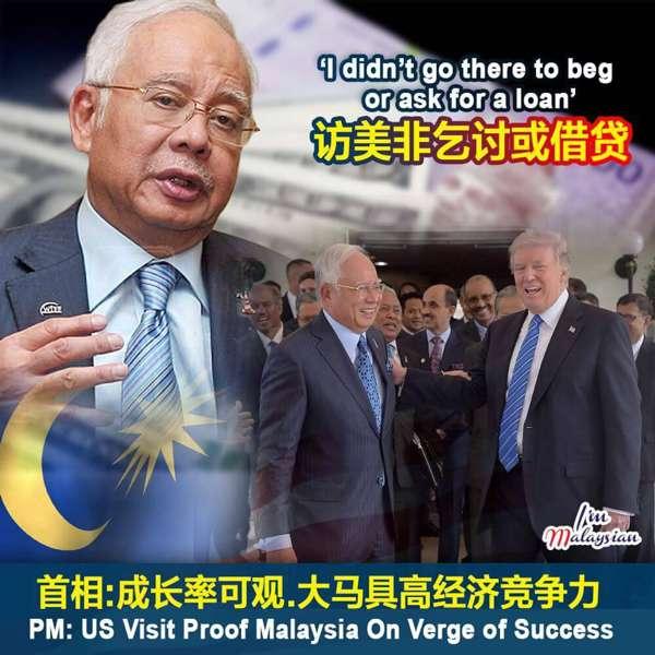 Lawatan Ke Amerika Sebagai Negara Berjaya, Bukan Untuk Mengemis - @NajibRazak