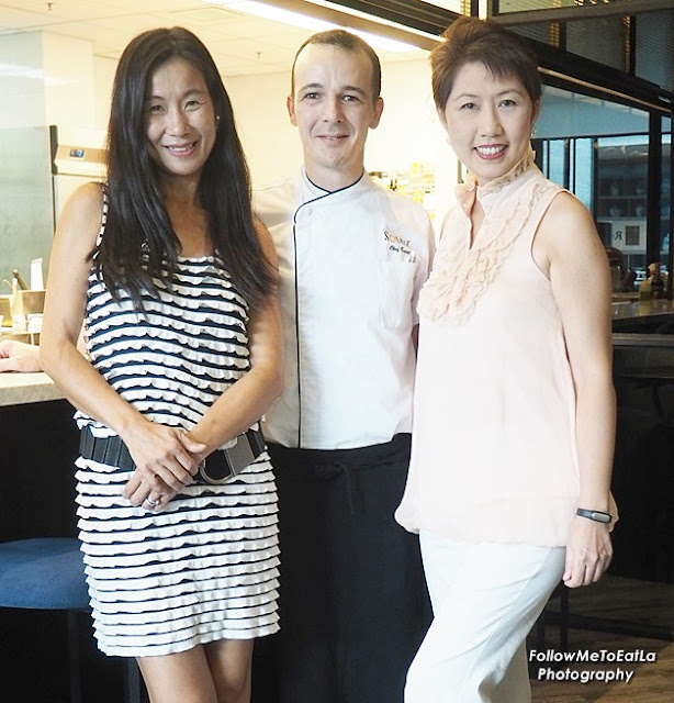 One For The Album Picture Taken With SOLEIL's CEO, Ms Amy Leese & Head Chef Evert