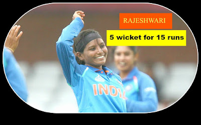 Rajeshwari gayakward  , cricket