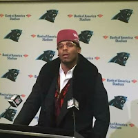 fez cam newton carolina panthers qb