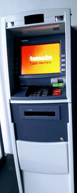 Pankkiautomaatti Reykjavikissä