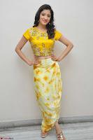 Richa Panai in Yellow Slim Fit Crop top ~ CelebxNext 023.JPG