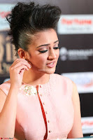 Akshara Haasan in Peachy Crop Top Choli Skirt at IIFA Utsavam Awards 53.JPG