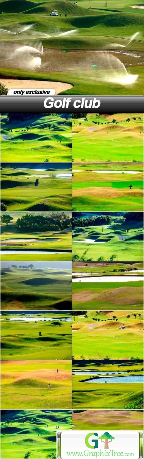 Golf club - 15 UHQ JPEG