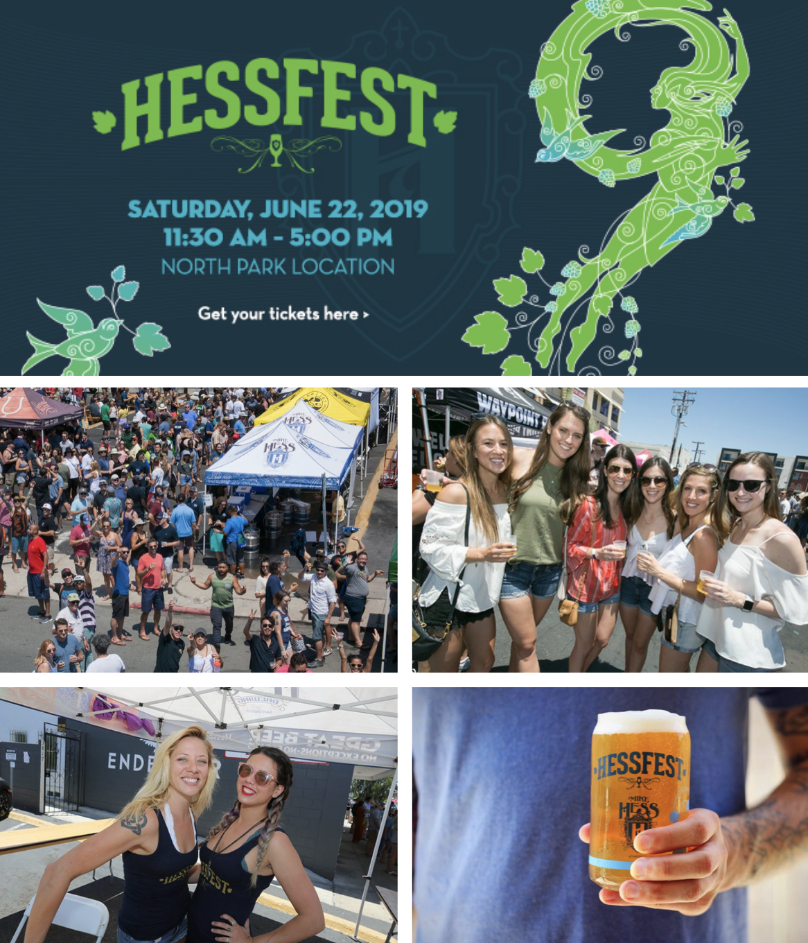 Save on passes & Enter to win VIP tickets to HessFest 9 - June 22!