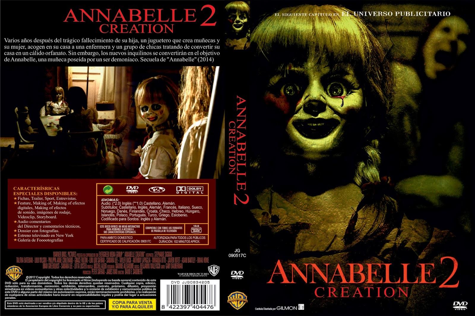 Annabelle 2 Dvd
