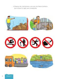 Apoyo Primaria Formación Cívica y Etica 2do. Grado Bloque IV Lección 1 Reglas por todas partes
